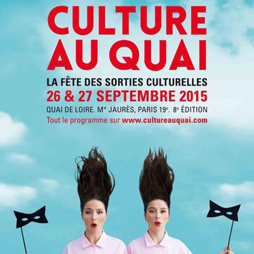 """26 et 27/09/2015 : Festival """"Culture au quai"""""""
