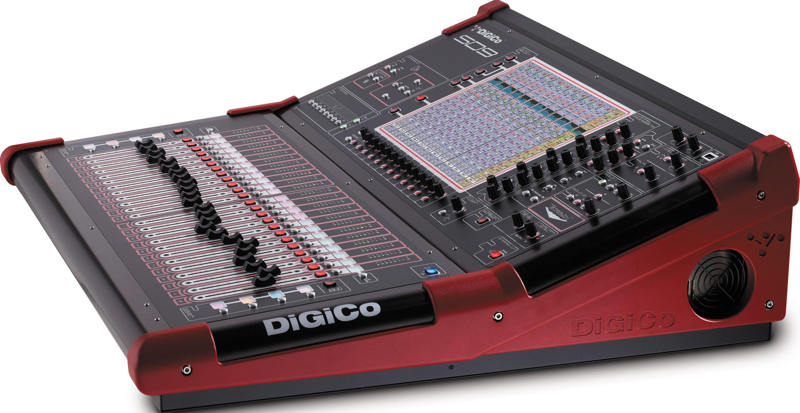 Mise à jour DiGiCo SD9 v1090