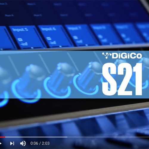 Tutoriel DiGiCo S21 – Nouvelle session