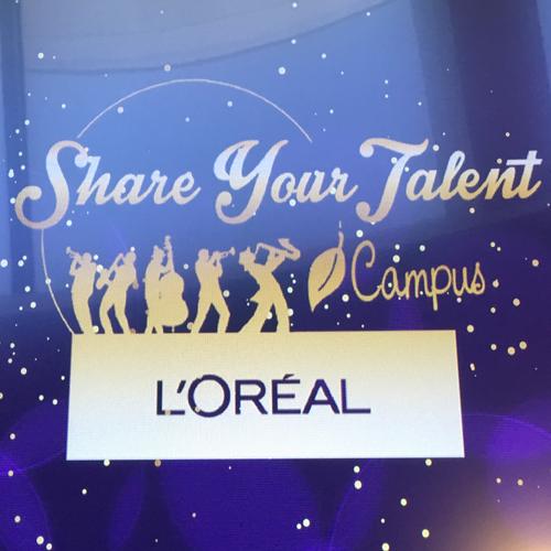 """Retour sur… """"Share your Talent"""", L'Oréal"""