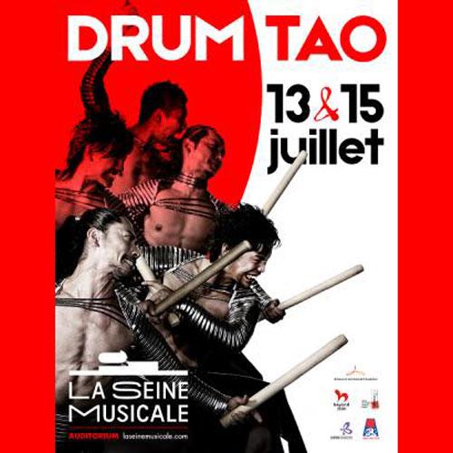DRUM TAO à la Seine Musicale