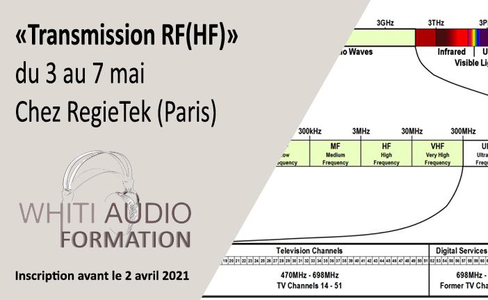 FORMATION TRANSMISSION RF (HF)